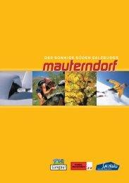 Prospekt downloaden - Mauterndorf