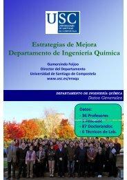Ingeniería Química - Universidade de Santiago de Compostela