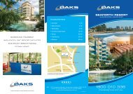 SEAFORTH RESORT - Oaks Hotels & Resorts
