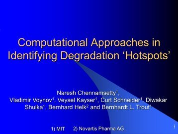 Computational Approaches in Identifying