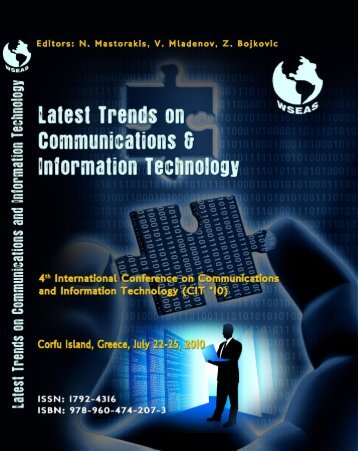 LATEST TRENDS on COMMUNICATIONS and ... - Wseas.us