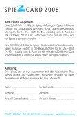 SPIE CARD 2008 - Bucht-Spiez.ch - in Spiez - Page 2