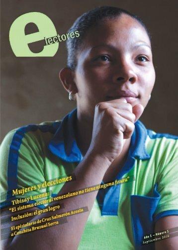 Revista E-lectores Nº1 - Consejo Nacional Electoral