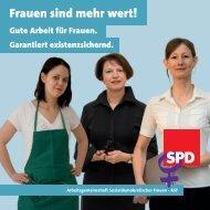 Frauen sind mehr wert! - SPD-Ortsverein Sehnde