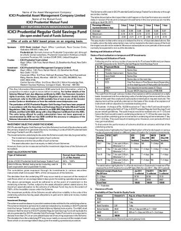 Regular Gold Savings Scheme-KIM-net.pmd - Rrfinance.com