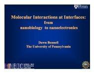 Molecular Interactions at Interfaces: Molecular Interactions at ...
