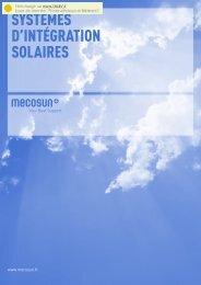 SYSTÈMES D'INTÉGRATION SOLAIRES - Talev