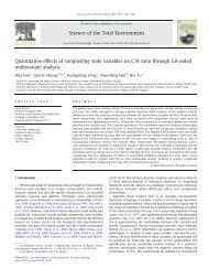 Quantitative effects of composting state variables on ... - ResearchGate
