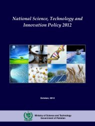 National Science, Technology and Innovation Policy 2012