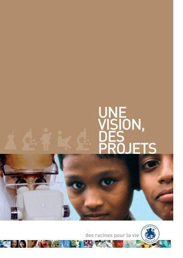 Plaquette projets1.9 Mo pdf - Fondation Mérieux