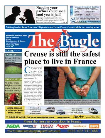 Creuse is still the safest place to live in France - The Bugle