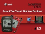 Record Your Track > Find Your Way Back