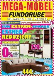 4 E - MEGA Möbel Fundgrube Kulmbach, Pegnitz