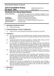 Kerbside-Sort Recycling Scheme