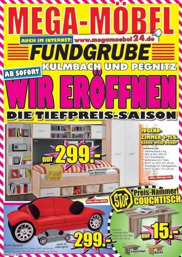 Die Tiefpreis-saison - MEGA Möbel Fundgrube Kulmbach, Pegnitz
