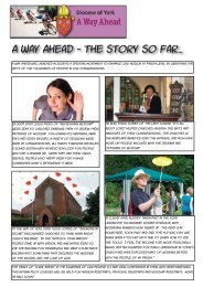 A Way Ahead Update - Diocese of York