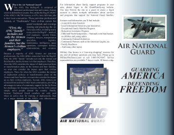Introduction to the ANG - Air National Guard