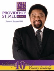 Providence St. Mel 2011 Annual Report