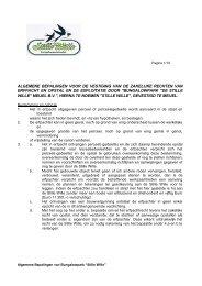 Algemene Bepalingen Stille Wille (PDF) - BVA Auctions