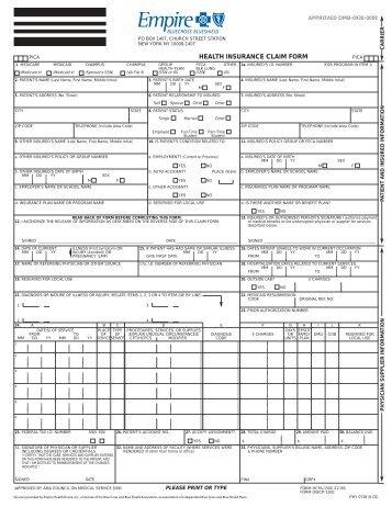 Empire Claim Form - Ubhonline.com