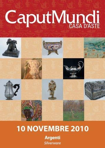 10 NOVEMBRE 2010 - CaputMundi