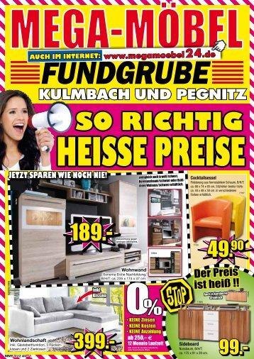 So richtig heiSSe PreiSe NeU! - MEGA Möbel Fundgrube Kulmbach ...