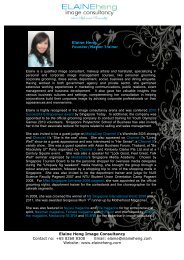 Elaine Heng - Nanyang Technological University