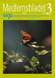 Medlemsblad 3 2003 - SFOG