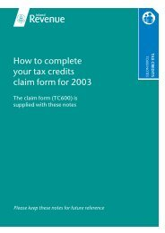 July 2002 - Revenue Benefits