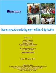 Date: 07 June, 2010 Editorial Team - Democracywatch