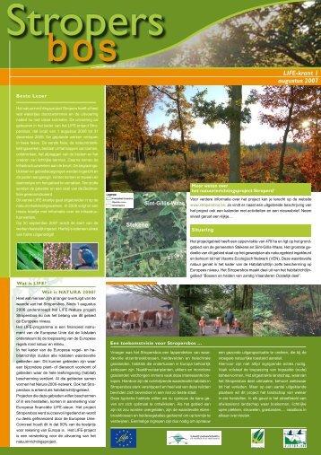 Stropersbos - Vlaamse Landmaatschappij