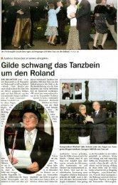 06.06.2007, Der Anzeiger, Gildefest - Bramstedter Fleckensgilde ...