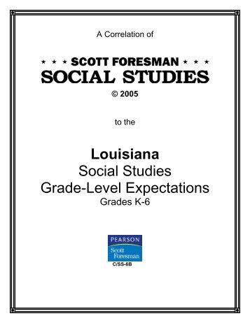Scott Foresman Social Studies Grade 5 Chapter 7 Research