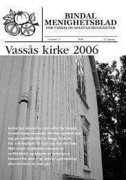 Menighetsbladet 5-2006 - Bindal kommune