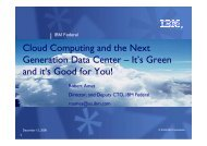 Cloud Computing and the Next Generation Data Center - Digital ...