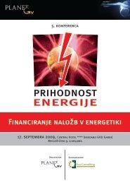 Financiranje naložb v energetiki - Planet GV