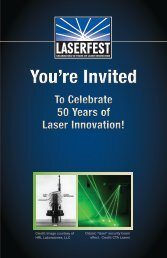 You're Invited You're Invited - LaserFest