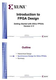 Introduction to Digital Design Using Digilent FPGA