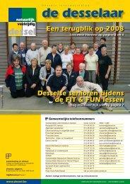 10. De Desselaar december 2008 - Gemeente Dessel