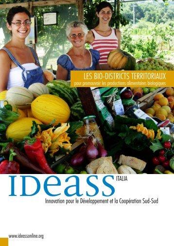 LES BIO-DISTRICTS TERRITORIAUX - Ideassonline.org