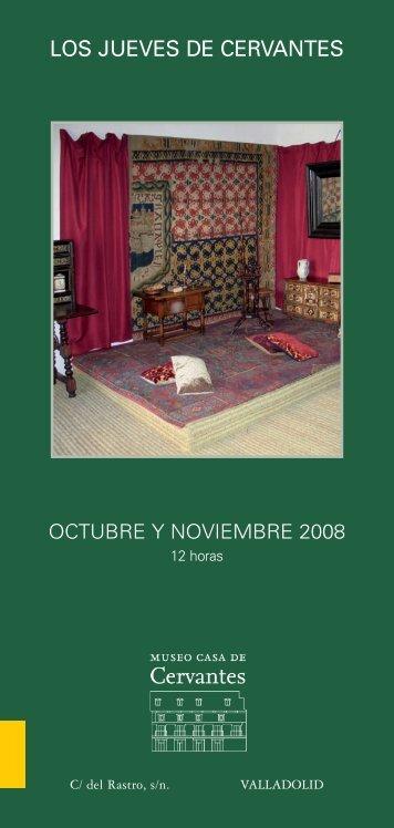 los jueves de cervantes - Museo Casa de Cervantes