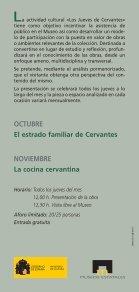 los jueves de cervantes - Museo Casa de Cervantes - Page 2
