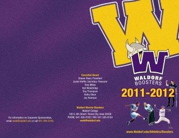View the WWB Membership Brochure - Waldorf College Athletics