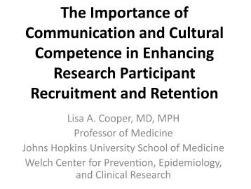 The Importance of Communication and Cultural Competence in ...