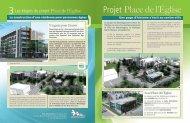 Projet Place de l'Église - Ville de Montmagny