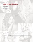 TABLE OF CONTENTS - Nude Industries - Page 3