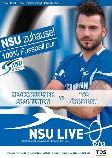 klicken zum Download unseres ... - Neckarsulmer Sport-Union