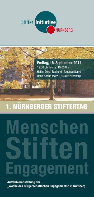 Menschen Stiften Engagement - Stadt Nürnberg