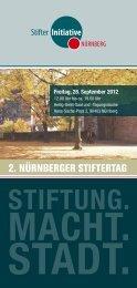 STIFTUNG. MACHT. STADT. - Stadt Nürnberg