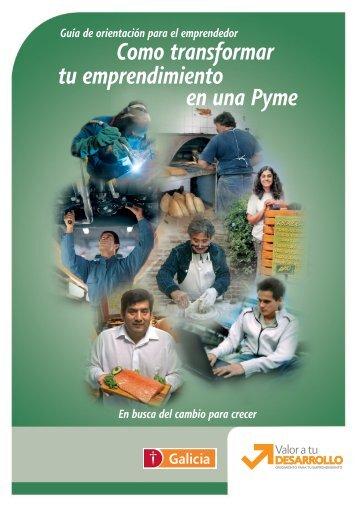Como transformar tu emprendimiento en una Pyme - Inicio - Fundes